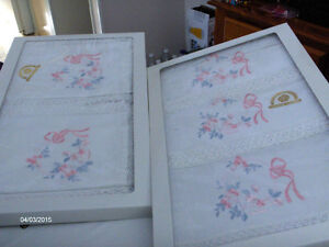 Beautiful Hand Embroidered Linens Imported from Italy-REDUCED! Kitchener / Waterloo Kitchener Area image 4
