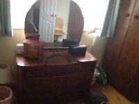 3 piece oak bedroom furniture