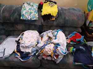 Boy newborn & 0 to 3 month clothing lot