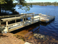 "Floating Docks / 14"" dia Tubular Pontoons"
