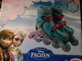 Frozen roller blades