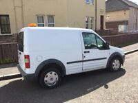 FORD TRANSIT CONNECT T220 PANEL VAN 58 PLATE