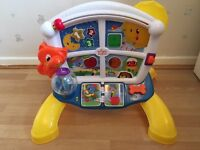 Bright starts learn & giggle activity station toy excellent condition