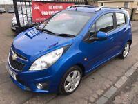 2010 CHEVROLET SPARK LT, £20 ROAD TAX, NOT CORSA YARIS MICRA AYGO 107 C1 CLIO