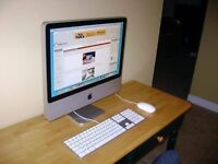 2008 20 Apple iMac Core 2 Duo 2.4ghz 4GB RAM 320GB HDD ATI 2600 HD GPU