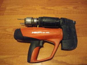 Gun a clou dx460 hilti