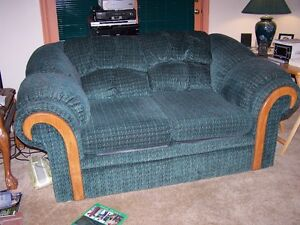 PLUSH LOVESEAT IN GREAT CONDTION
