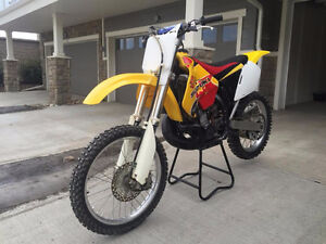 Very Clean Suzuki RM 250 trade for street bike or something else