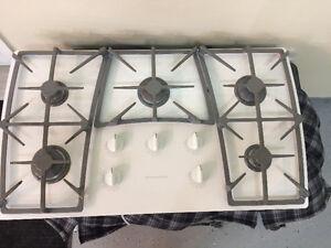"36"" Kitchenaid 5 Burner Gas cooktop"