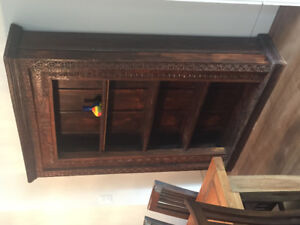 Antique Rustic Wall Cabinet