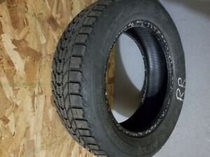 4 Firestone winterforce tires