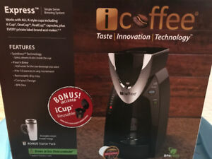 iCoffee K-Cup Single Serve Coffee Brewer