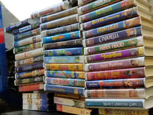 Family and Disney's VHS Movies