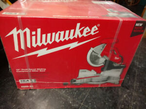 New in Box Milwaukee Saw and stand