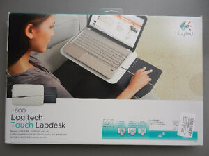 NEW Logitech n600 Portable Wireless Touch LapDesk & Cooling Pad