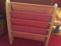 Book sling / book shelf (girl colors)