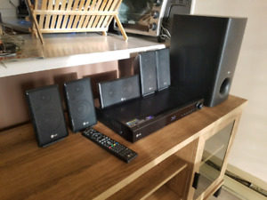 LG Home theater 5.1  Blu-ray DVD Sub-Woofer