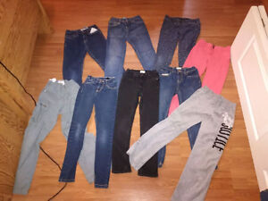 Girls size 10 clothes (and a few size 8)