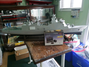 Model boat of HDMS Absalon