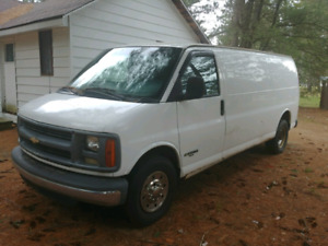 98 Chevy Express **DIESEL** Long Tail Van