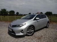 2013/63 Toyota Auris 1.8 VVT-i HSD ( 136bhp ) E-CVT Excel