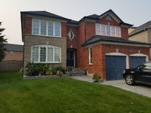 4 BEDROOM DETACH HOUSE AVAILABLE FOR RENT IN BRAMPTON