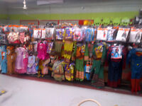 HALLOWEEN store EVERYTHING 50 percent off everything