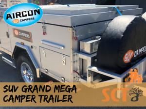 NEW 2018 SUV GRAND MEGA CAMPER TRAILER Edmonton Cairns City Preview