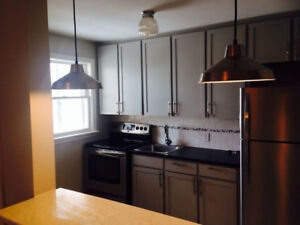 North end two bedroom plus den