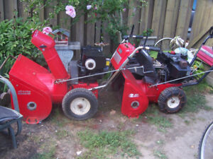 snow blower for sale  electric start with reverse