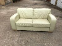 Leather sofa, Free delivery