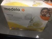 Medela Swing Electric BreastPump (hardly used) with brand new carrier bag