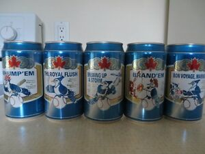 BLUE JAYS BASEBALL COLLECTOR CANS FROM LABATTS Kitchener / Waterloo Kitchener Area image 1