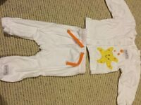 Size 0-3 months shirt and pants