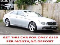 Mercedes-Benz CLS320, 7G-Tronic 32, Silver, FSH, 6 Months Warranty