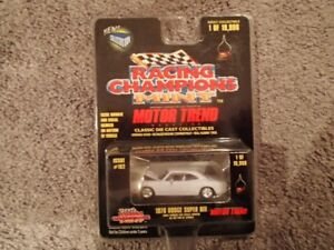 1:64 SCALE DIE-CAST 1970 DODGE SUPER BEE W-1 RACING CHAMPIONS MI