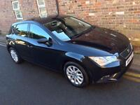 Seat Leon 1.6 TDI CR SE (105ps) (s/s) 2014 ONLY 32,000 MILES