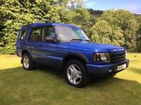 STUNNING ICONIC LAND ROVER DISCOVERY II TD5 XS FACELIFT LOW MILES AUTOMATIC 7ST