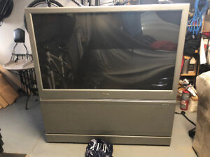 "Phillips 60"" Rear projection HD TV"