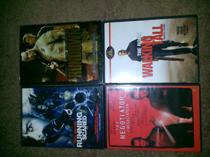 4 Action Packed DVD's