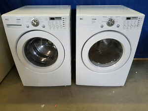 LG Front Load Washer/Dryer Set, Huge Water/Hydro Savers