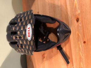 Bell dirt bike helmet - size large