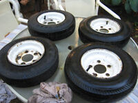 Trailer Tires in good shape