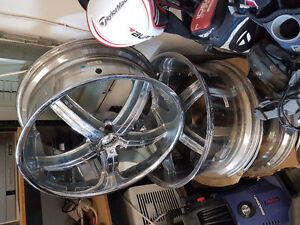 22inch chrome DUB rims