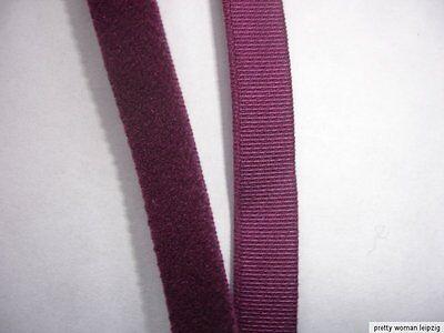 10m Gummiband 0,23€/m Trägerband Farbe vino 10mm breit IG14