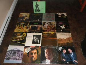 17 ANGEL AND MASTERWORKS CLASSICAL RECORDS