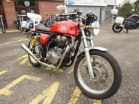 Royal Enfield Continental GT Red 2016 66 Plate Just 1113 Miles