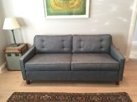 """New contemporary yet classic three/3 seater sofa """"Fancy Nancy"""" Sofa Workshop in exclusive fabric"""