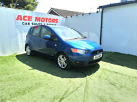 2013 MITSUBISHI COLT 1.3 CZ2 AUTOMATIC 5 DOOR HATCHBACK,ONLY 43000 MILES FSH