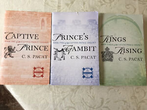 Captive Prince trilogy (trade paperback, $10 for all three)